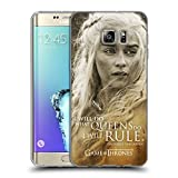 Official HBO Game Of Thrones Daenerys Targaryen Character Portraits Soft Gel Case for Samsung Galaxy S6 edge+ / Plus