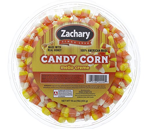 Candy Corn - 1 lb. Resealable Tub - Halloween Candy