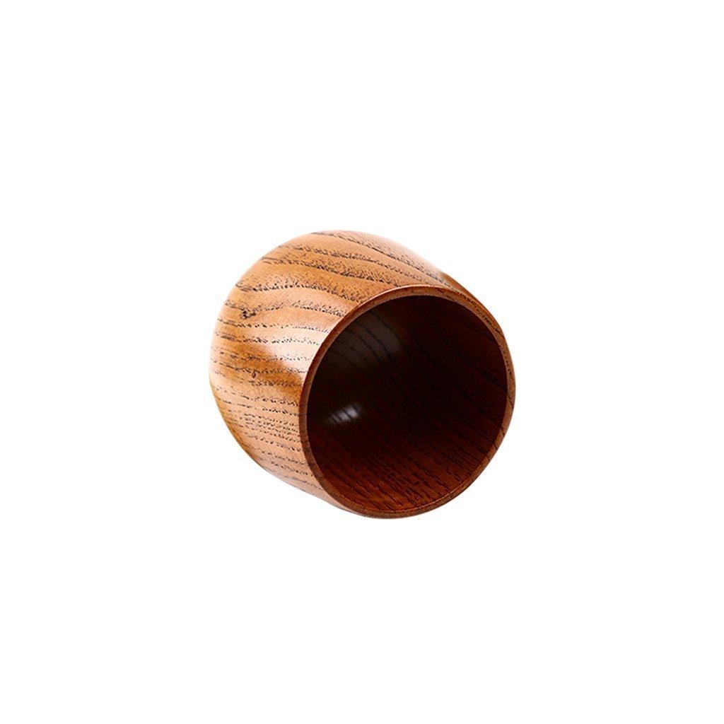 Yundxi Hecho a Mano Taza de t/é Japonesa de Madera Taza De Caf/é 1 Pieza