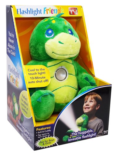 Collections Etc - Flashlight Friends - The Huggable Loveable Childs Flash Light Dragon