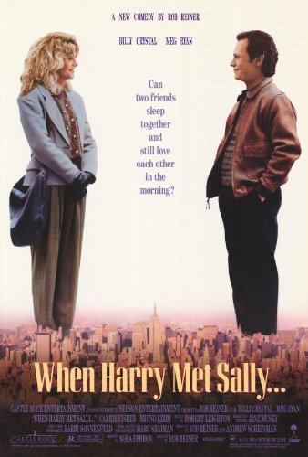 When Harry Met Sally Movie Poster (27 x 40 Inches - 69cm x 102cm) (1989) -(Billy Crystal)(Meg Ryan)(Carrie Fisher)(Bruno Kirby)(Steven Ford)(Lisa Jane Persky) by MG (When Harry Met Sally Poster)