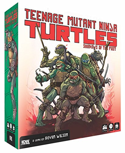 IDW Games Teenage Mutant Ninja Turtles: Shadows of The Past Board Game (Ninja Board Game Card compare prices)