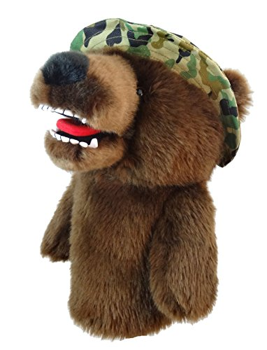 Army Headcover (Daphne's Headcovers Military Bear Golf Club Head Cover For 460cc Driver)