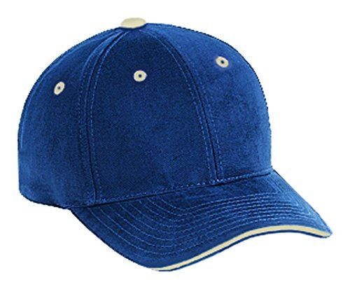 Brushed Sandwich Twill Cotton (Superior Brushed Cotton Twill Sandwich Visor Low Profile Pro Style Caps)