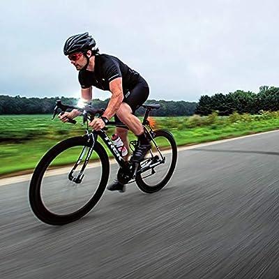 TOPTETN 3D Acolchado Bicicleta Ciclismo Ropa Interior Pantalones Cortos Transpirable Ligero Hombres y Mujeres: Amazon.es: Deportes y aire libre