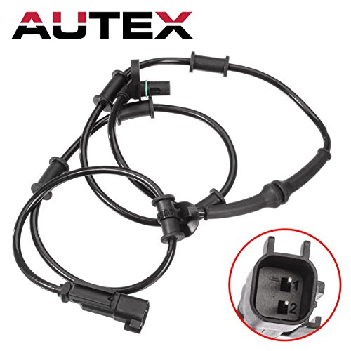AUTEX Left/Right Front ABS Wheel Speed Sensor 5179958AA 5179958AB SU9953 5S8491 ALS1984 compatible with Dodge Ram 1500 2008/Dodge Ram 2500 & 3500 2006 2007 2008