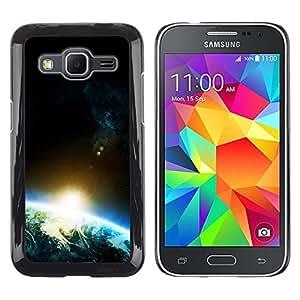 Shinning spot Vigas - Metal de aluminio y de plástico duro Caja del teléfono - Negro - Samsung Galaxy Core Prime