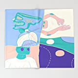 Society6 Moods (Anger / Chill / Non Reaction / Play) Throw Blankets 88'' x 104'' Blanket