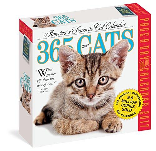 365 Cats Page-A-Day Calendar 2017 51QF7A 2BuKUL