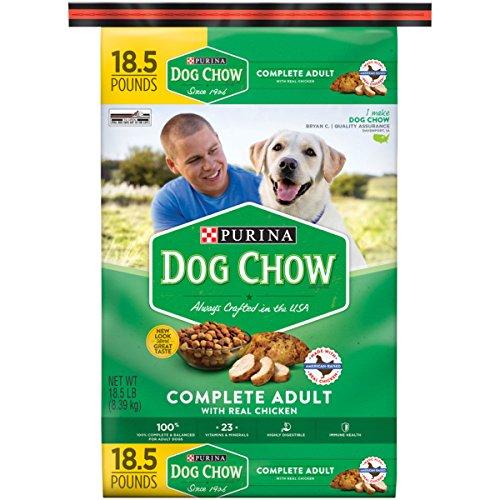 Puppy Food 20 Lb Bag - Purina Dog Chow Complete Adult Adult Dry Food - (1) 18.5 lb. Bag