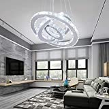 Winretro Modern DIY Crystal LED Chandelier Light