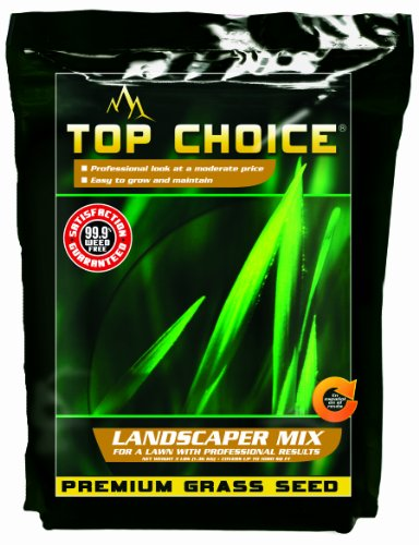 Top Choice 17626 3-Way Perennial Ryegrass Grass Seed Mixture, 3-Pound by TOPCHOICE