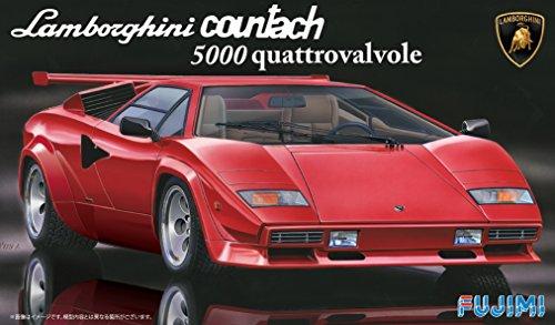 Fujimi 1/24 Lamborghini Countach 5000 Quattorovalvole