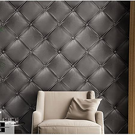 4 easy steps to refreshing your home decor decorated life for Gray vinyl wallpaper
