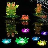 LOGUIDE LED Lotus Light Waterproof Firefly Trendy
