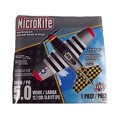 "X Kites MicroKite P-51 Mustang 5.0"" Kite: Toys & Games"