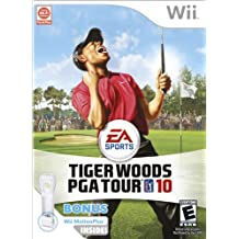 Tiger Woods PGA Tour 10 Wii Motion Plus Bundle