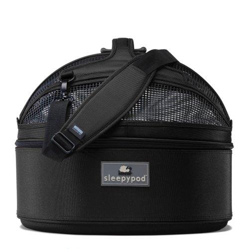 Sleepypod Medium Mobile Pet Bed, Jet Black For Sale