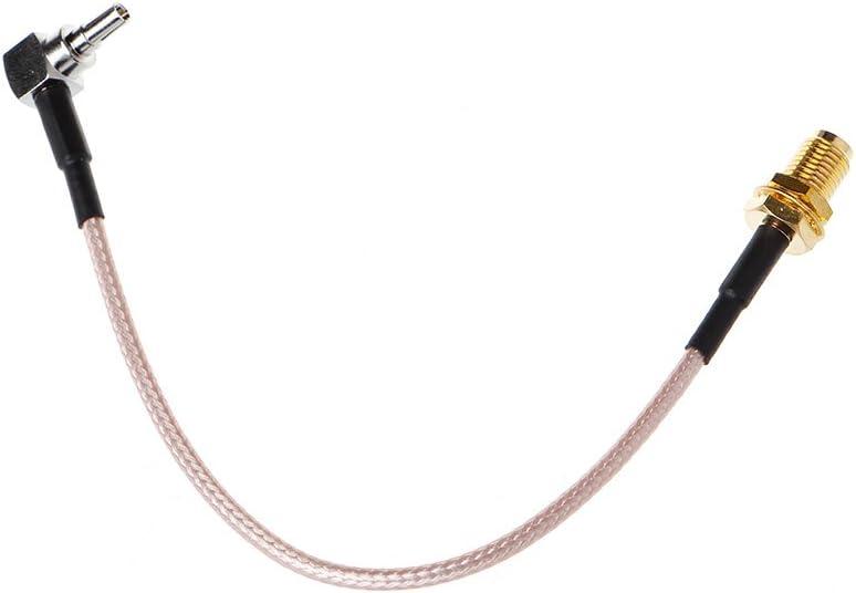 KERDEJAR SMA Femelle vers CRC9 Connecteur /à Angle Droit RG316 C/âble Pigtail 15cm 6