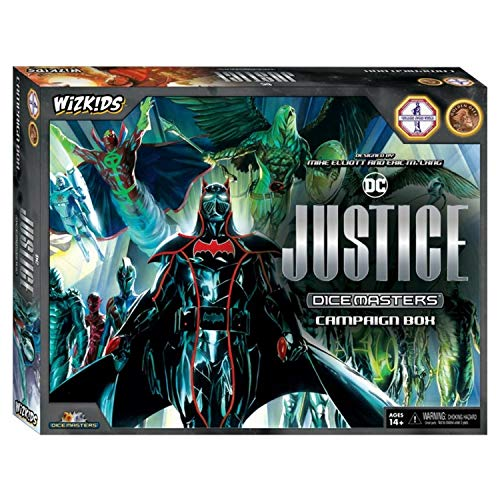 English Wizkids Games Justice Campaign Box DC Comics Dice Masters