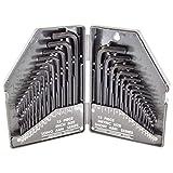 Generic 30 Pc Allen Wrench Set- SAE/ MM thumbnail