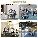 Garage Sports Equipment Storage Organizer with