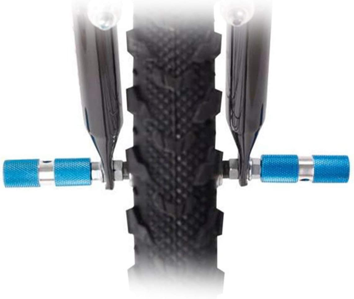 2 Pcs DUUTI HJT-101 Repose-Pieds /à essieu de Bicyclette Anti-d/érapant Stunt Pedal Balance Pied Stand pour VTT Outdoor Cycling