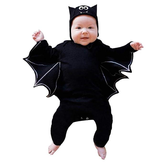 Amazon.com: FDSD Ropa de Halloween Pelele para Bebé Niño ...