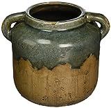 Cheap IMAX 13325 Bardot Blue Stone Large Ceramic Vase