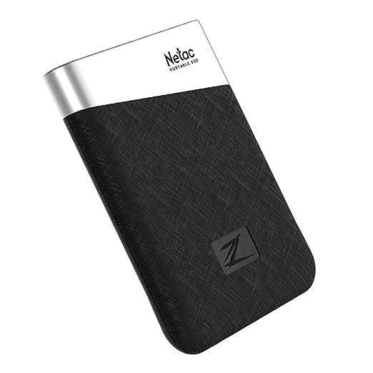Netac Z6 - Disco duro externo (USB 3.1 tipo C, SSD sólido): Amazon ...