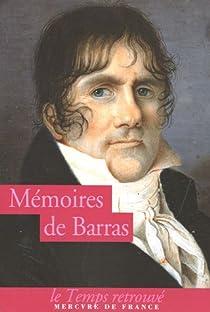 Mémoires par Barras