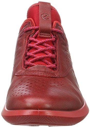ECCO Scinapse, Scarpe da Ginnastica Basse Donna Rosso (Chili Red)