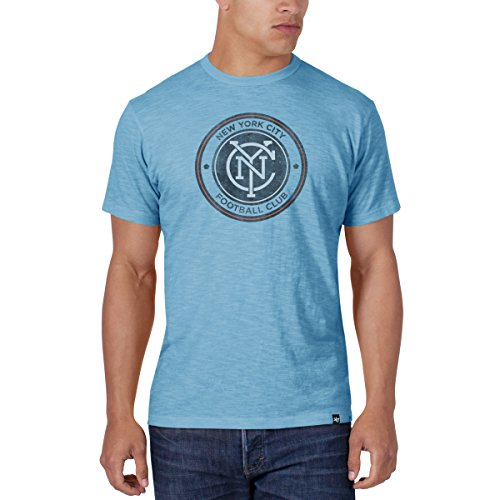 47 Brand Scrum Slim Shirt - MLS New York City Sky Blue