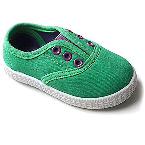 Green Girls Sneakers - 3