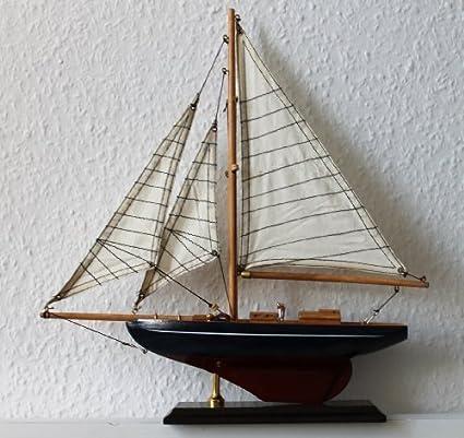 Schiffsmodell - Maqueta de barco de vela (33 x 35 cm, madera ...