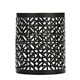 "Hosley's 4.5"" High Oil Rubbed Bronze Jar Candle Sleeve"