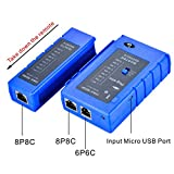 Optimal Shop Network Cable Tester Test Tool RJ45