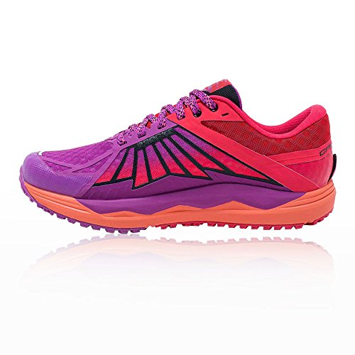 Blau Brooks Caldera Orange Damen Laufschuhe Z66fwtq