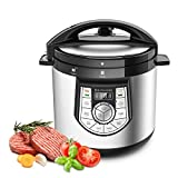 Elechomes CY601 12-in-1 Multi-Use Programmable Electric Pressure Cooker, Nonstick & Easy-to-clean