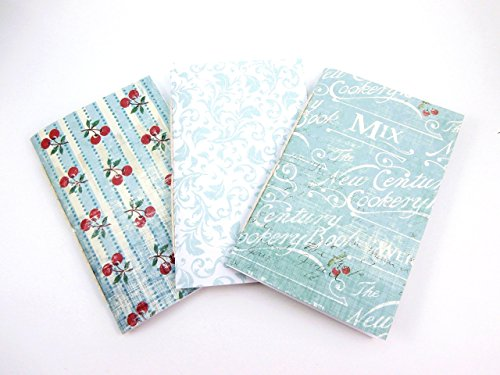 Set of 3 Kitchen-Themed Bullet Journals - Travelers Notebook and Planner Refills