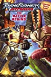 Transformers Armada: The Battle Begins with Sticker