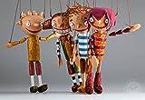 Four Schoolmates Czech Marionettes Puppets