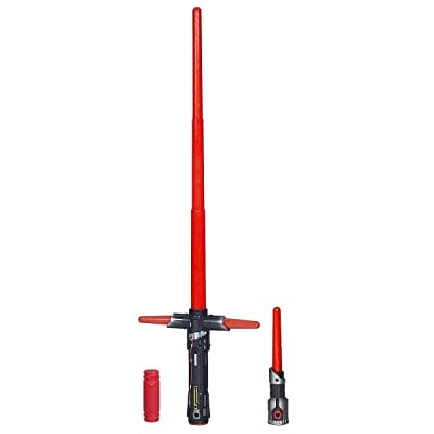 Star Wars The Force Awakens Kylo Ren Deluxe Electronic Lightsaber: Hasbro: Toys & Games