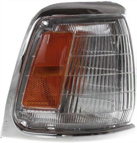 CPP Passenger Side DOT/SAE Corner Light for 89-91 Toyota Pickup 2WD TO2521124