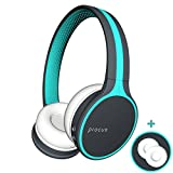 Procus Urban Bluetooth Headphones (On-Ear Wireless) Hi Bass, With Microphone (Mobile/PC/TV) Blue