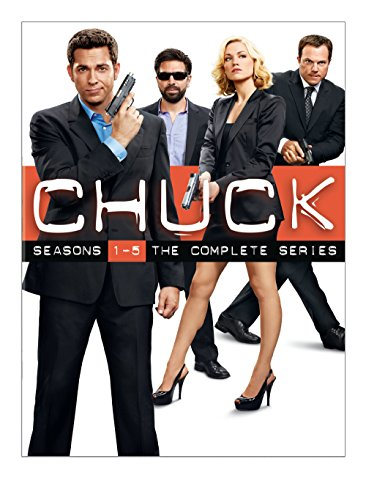 DVD : Chuck: Seasons 1-5: The Complete Series (Oversize Item Split, Boxed Set, Collector's Edition, , Dolby)