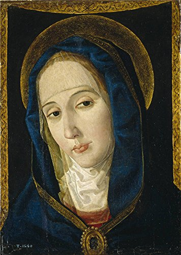 The Perfect Effect Canvas Of Oil Painting 'San Leocadio Paolo De Mater Dolorosa Late 15 Century ' ,size: 30 X 42 Inch / 76 X 107 Cm ,this Cheap But High Quality Art Decorative Art Decorative Canvas Prints Is Fit For Kids Room Decor And Home Gallery Art And (Halloween Costume Stores San Jose)