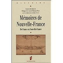 Mémoires de Nouvelle-France