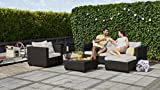 Keter Salta Coffee Table Modern All Weather Outdoor
