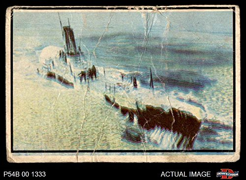 1954 Bowman Power for Peace # 80 USS Perch in Artic Waters (Card) Dean's Cards AUTHENTIC 3228364
